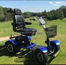 CE certificate 4 wheels one seater cheap golf buggy for sale