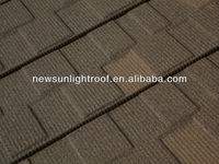 Non-curling Color Galvanized Steel Shingle Standing Seam Metal Roofing Tiles