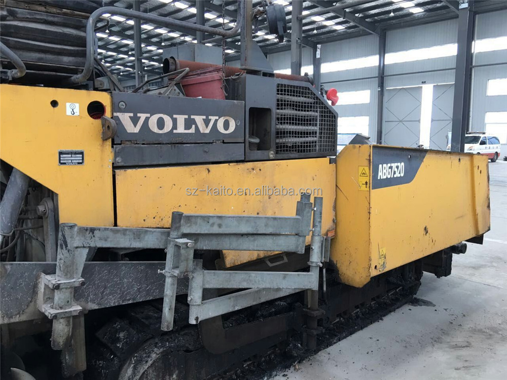 Good Performance Used Vogele ABG 7520 Asphalt Paver Machine for Sell