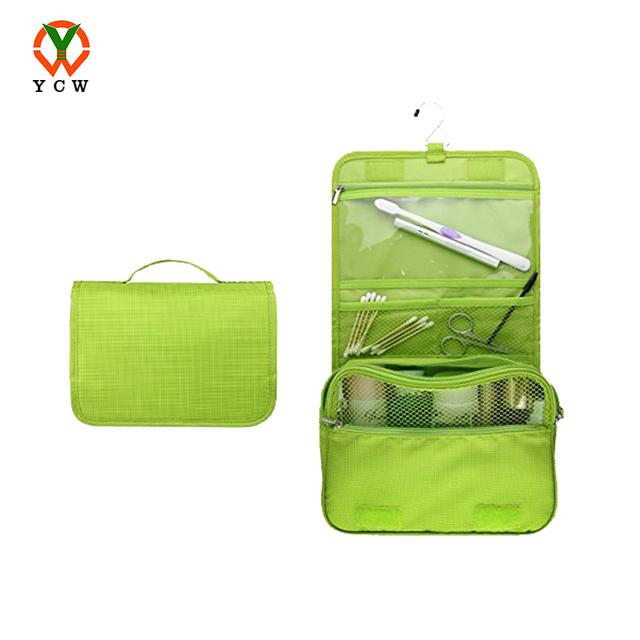 Travel Kit Organizer Bathroom Storage Cosmetic Bag Hanging Toiletry Bag for Travel