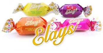 Elays Soft Fruit Filling Center Candy