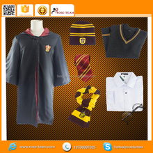 Fantasia Anime TV Movie Custom Made Cartoon Harry Potter Cosplay Costume with Glasses Scarfs Tie