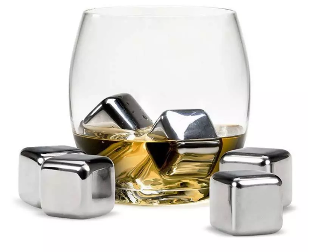 Amazon hot sell Revolutionary New Ice Cube Maker Genie stainless steel ice cubes