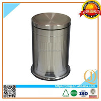 dish shape lid waste cans with pedal foot pedal rubbish bin wholesales retail waste pedal kitchen bin