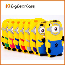 for iphone 5 minion 3d silicone case