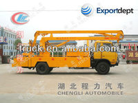 18-20meters high lifting platform truck,high up truck