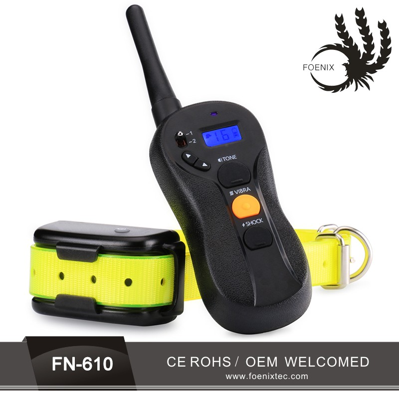 600M remote control waterproof no bark dog shock collar