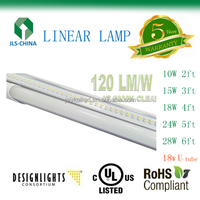 18 WATT 4ft LINEAR LED LAMP,UL DLC LIST LED TUBE