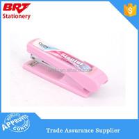 Plastic pink carton stapler for binding