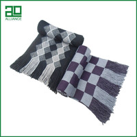 New Brand Imported In China Woolen For Men Tartan Wholesale Suppliers Men'S Scarf