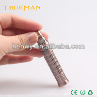 electronic cigarette big battery Embossed Design Colored Etched Ego K Battery