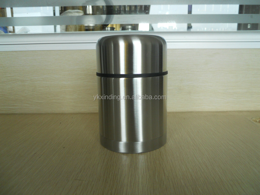 800ml Storage Bottles & Jars Type and Stainless Steel Metal Type Stainless Steel vault Canister Keeps Fresh