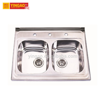 Luxury OEM design inox kitchen sink
