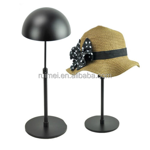 New Products Adjustable Counter Metal Hat Stand Display