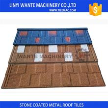 Top Quality steel shingles lowes concrete roof tiles With Recycle System