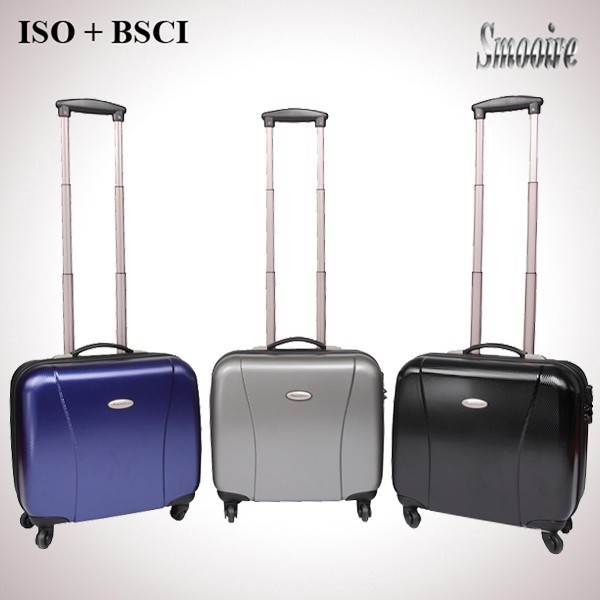 new fashion style 100% PC polycarbonate wheeled valise
