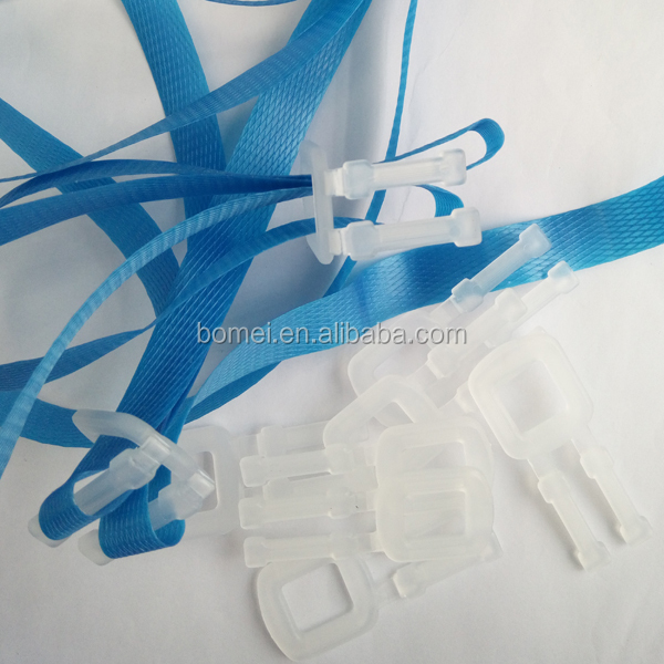 PP Adjustable Straps Plastic packing strap buckle