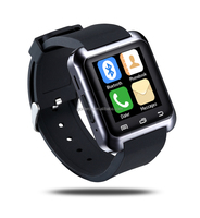 2015 u80 cheap smartwatch with touchscreen/Pedometer/Sleep Monitoting for ios and android Smartphones