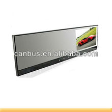 VGA HD 1280x72 2.0 120degree viewing angle AVI Car car rearview mirror car dvr; monitor with wireless camera