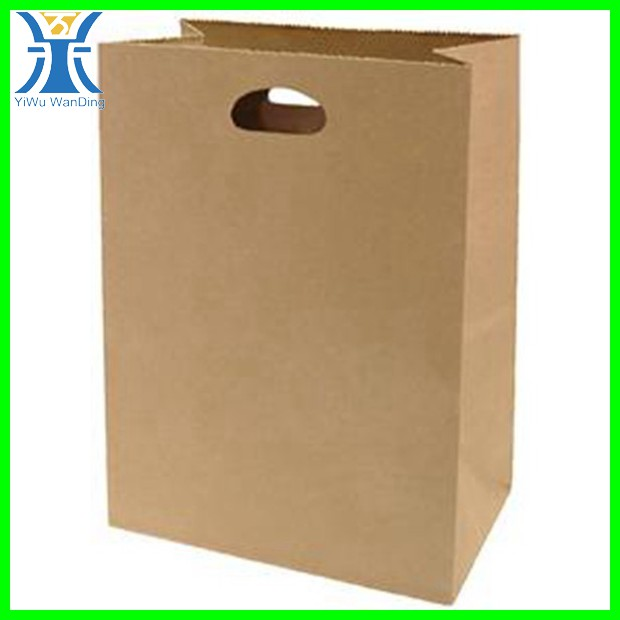 Yiwu new arrival top popular kraft gift package products plain brown paper bags