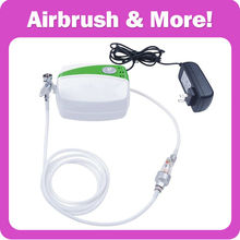 Portable <strong>Airbrush</strong> Kit for Cake Food Decorate 1pc Mini <strong>Airbrush</strong> Compressor+1pc <strong>Airbrush</strong>+1pc <strong>Airbrush</strong> Filter CE Certified!
