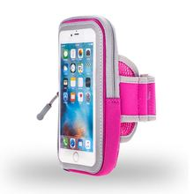 Hot sale Colorful Sport mobile phone cellphone waterproof case with armband For Iphone 7