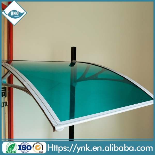 aluminum waterproof roof louver awning canopy