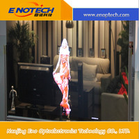 High gain rear projection screen film for video projector