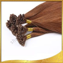 2014 factory real 5a grade three tone ombre keratin hair extension