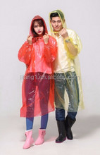 raw material PE raincoat