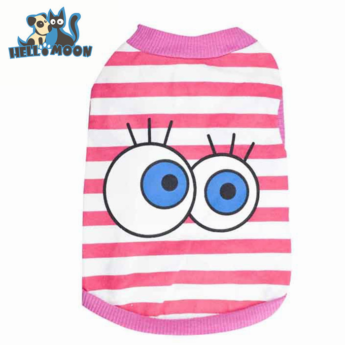 Wholesale Big Eyes Stripe Wag A Tude Dog Clothes