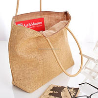 Custom Straw Bag Large Capacity Women