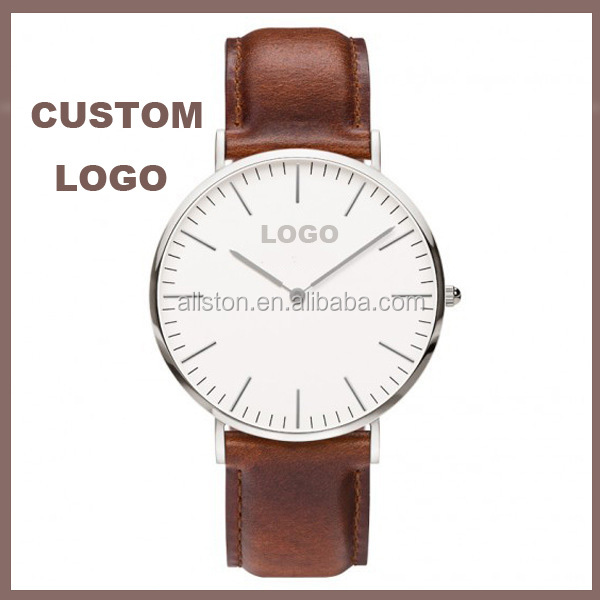 R0792 china new time watch Leather nylon watch manufacturer, custom made watch dials