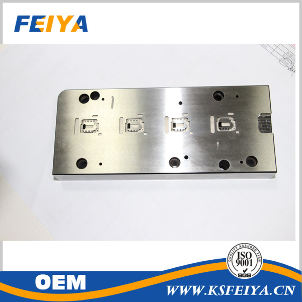 General High precision quality mold components date insert with oem design services
