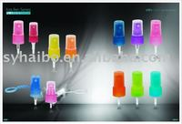 plastic mist spray and lotion pump /plastic nozzle/plastic perfume atomizer