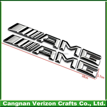 Automobiles & Motorcycles Accessories High Quality Chrome Plastic Abs Adhesive Car Badges For Sale