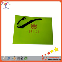 Shenzhen Factory OEM Matte Lamination Fancy Paper Bag