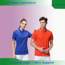 Garment supplier custom-made polo t shirts latest design