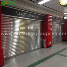 Fire proof motorized metal roll up door