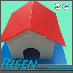 china factory direct sale coroplast box pets house