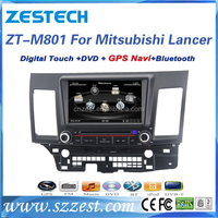 ZESTECH 8'' screen size 2 din gps navigation for Mitsubishi Lancer EX dvd player with video player GPS DVD V-10disc Bluetooth5.0