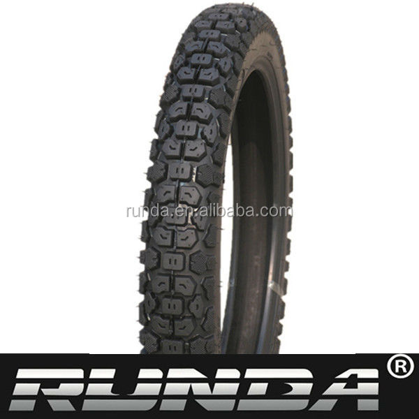 motorcycle tyres with natural rubber inner tube 2.75-21