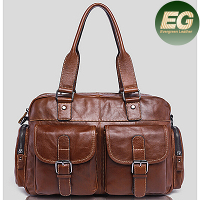 Man's handbag 100% real leather bag casual shoulder bag wholesale in China market M3120