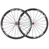 Hot Wheels Full Carbon 700C Clincher Wheelset 38mm Carbon Road Wheelset Powerway R36 Red Hubs Road Bicycle Carbon Wheelset