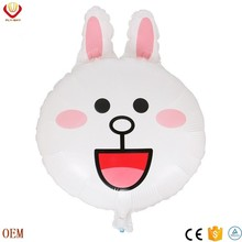 the rabbit for kids' gift inflatable helium balloon