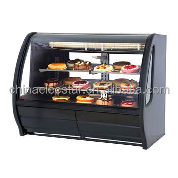 Refrigerated Deli Case/ Bakery showcase with Two Rear Sliding Glass Doors