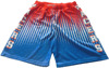 Hot sale sublimated mens basketball shorts wholesale