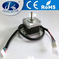 High Torque 42mm high speed nema 17 dual shaft stepper motor with low price