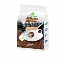 Lifeworth instant organic tongkat ali white ginseng coffee with private label