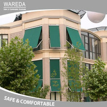 hot drop arm window awnings